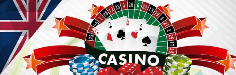 UK casino card, dice and roulette games