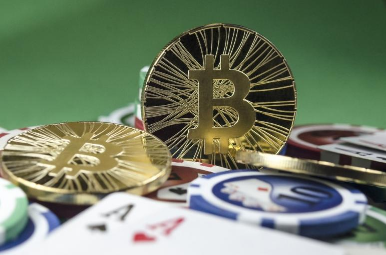 Representing betting with bitcoins
